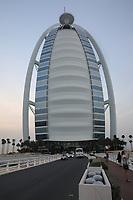 General views of the Burj al Arab, Jumeirah, Dubai, United Arab Emirates on 1.4.19.
