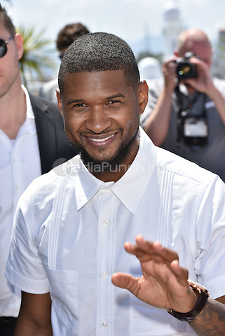 Usher Raymond IV<br /> 'Hands of Stone' photocall during the 69th International Cannes Film Festival, France May 16, 2016.<br /> CAP/PL<br /> &copy;Phil Loftus/Capital Pictures /MediaPunch ***NORTH AND SOUTH AMERICA ONLY***