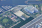 Dream Island: Tokyo, Japan: Aerial view of proposed venue for the 2020 Summer Olympic Games. (Photo by AFLO)