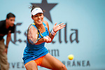 The tennis player Ana Ivanovic during the match against Anastasia Pavlyuchenkova in the Madrid Open Tennis Tournament. In Madrid, Spain, on 08/05/2014.