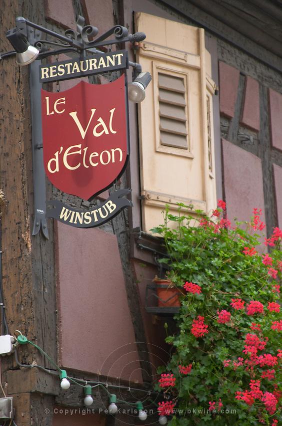 restaurant le val d'eleon winstub andlau alsace france