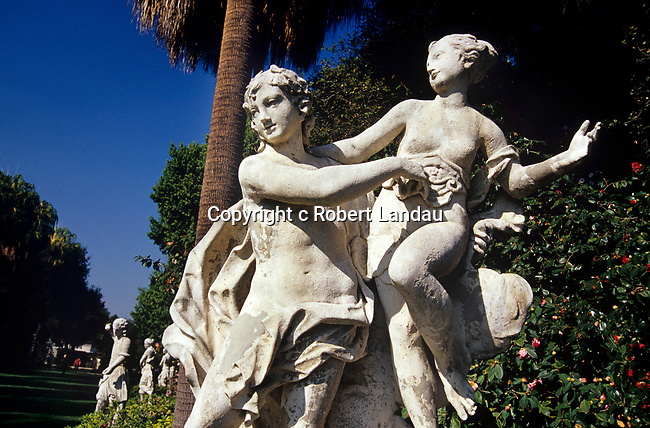 Statues at Huntington Gardens, Pasadena, CA