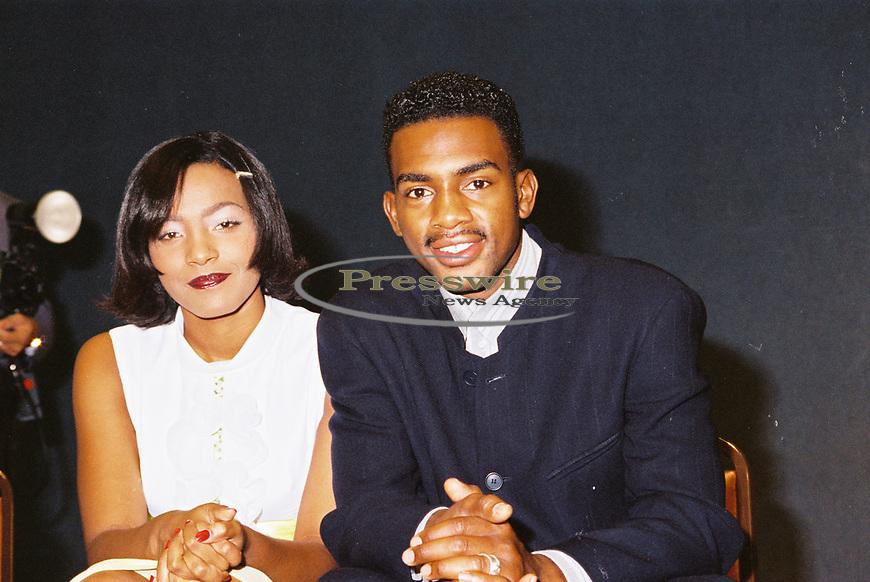 "Nona Gaye & William ""Bill"" Bellamy in Dallas Texas on June 9, 1994.  Photo credit: Elgin Edmonds/ Presswire News"
