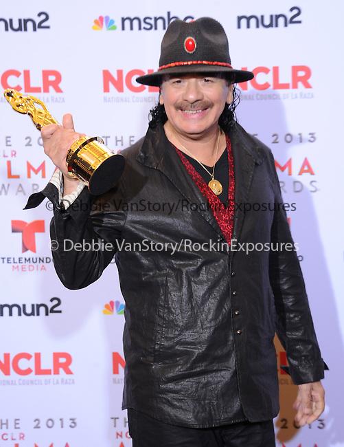 Carlos Santana attends The 2013 NCLR ALMA Awards held at the Pasadena Civic Auditorium in Pasadena, California on September 27,2012                                                                               © 2013 DVS / Hollywood Press Agency