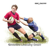 Barry, MASCULIN, MÄNNLICH, MASCULINO,rugby, paintings+++++,GBBCCDA1008,#m#, EVERYDAY