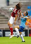 Katrine Veje, Annemieke e/v Kiesel, Women's EURO 2009 in Finland.Denmark-Netherlands, 08292009, Lahti Stadium