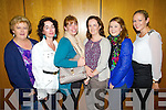 Teachers from CBS Primary Tralee, pictured at the meeting on School cuts in the Brandon hotel on Monday evening were l-r: Áine Uí Bheaglaoi, Sarah Barry, Maria O'Regan, Máire Ní Liongsigh, Louise McMahon and Eimear O'Connell.