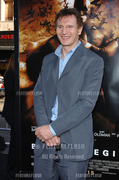 Actor LIAM NEESON at the Los Angeles premiere of his new movie Batman Begins..June 6, 2005 Los Angeles, CA..© 2005 Paul Smith / Featureflash