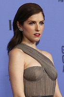 www.acepixs.com<br /> <br /> January 8 2017, LA<br /> <br /> Anna Kendrick appeared in the press room during the 74th Annual Golden Globe Awards at The Beverly Hilton Hotel on January 8, 2017 in Beverly Hills, California.<br /> <br /> By Line: Famous/ACE Pictures<br /> <br /> <br /> ACE Pictures Inc<br /> Tel: 6467670430<br /> Email: info@acepixs.com<br /> www.acepixs.com