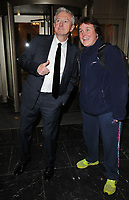 Louis Walsh with a fan at the Shooting Star CHASE Ball, The Dorchester Hotel, Park Lane, London, England, UK, on Saturday 30 September 2017.<br /> CAP/CAN<br /> &copy;CAN/Capital Pictures /MediaPunch ***NORTH AND SOUTH AMERICAS ONLY***