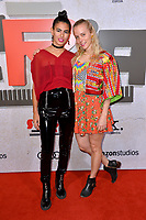 LOS ANGELES, CA. October 24, 2018: Jen Stark &amp; Sandy Heyaime at the Los Angeles premiere for &quot;Suspiria&quot; at the Cinerama Dome.<br /> Picture: Paul Smith/Featureflash
