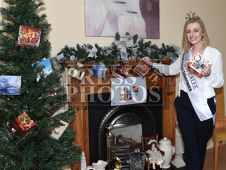 Rose of Tralee Elysha Brennan  launches the Gary Kelly Cancer Support Centre Christmas Cards. Photo:Colin Bell/pressphotos.ie