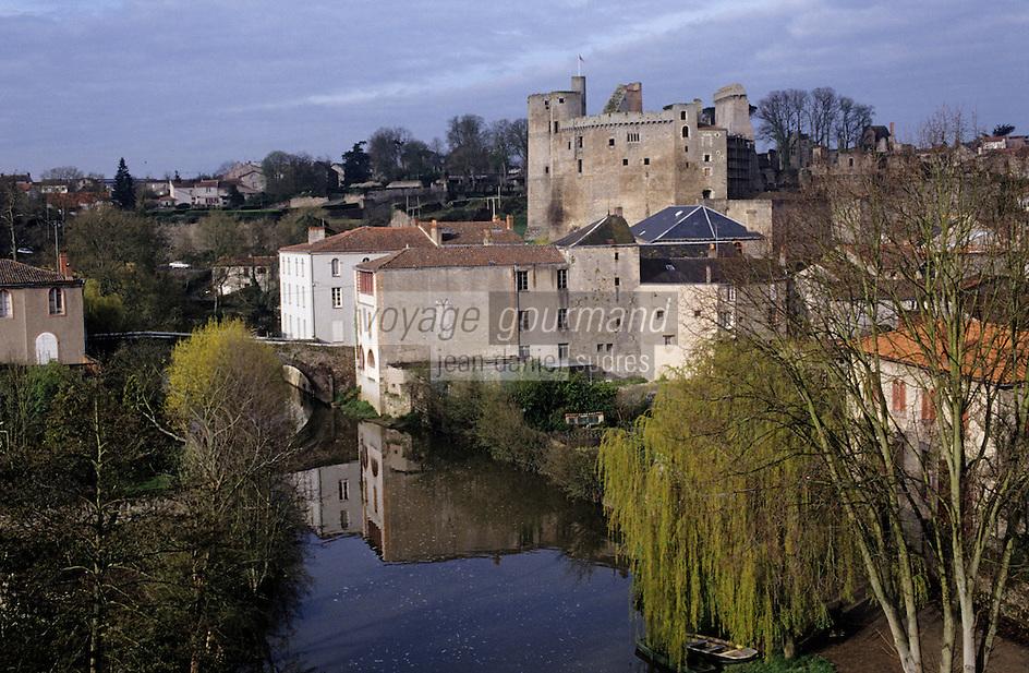 Europe/France/Pays de la Loire/44/Loire-Atlantique/Clisson: Le Château