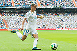 Lucas Vazquez Iglesias of Real Madrid in action during the La Liga match between Real Madrid and Levante UD at the Estadio Santiago Bernabeu on 09 September 2017 in Madrid, Spain. Photo by Diego Gonzalez / Power Sport Images