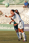 24 June 2009: Brittany Bock (11) of the Los Angeles Sol.  Saint Louis Athletica was defeated by the visiting Los Angeles Sol 1-2 in a regular season Women's Professional Soccer game at AB Soccer Park, in Fenton, MO.