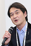 Takeshi Natsuno, April 8, 2016 : <br /> The Tokyo 2020 Emblems Selection Committee unveiled Shortlisted Emblem designs in Tokyo, Japan. (Photo by Yohei Osada/AFLO SPORT)