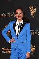 LOS ANGELES - SEP 10:  Brianna Yde at the 2017 Creative Arts Emmy Awards - Arrivals at the Microsoft Theater on September 10, 2017 in Los Angeles, CA