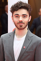 Nathan Sykes at The Prince's Trust TK Maxx and Homesense Celebrate Success Awards at The London Palladium, Argyll Street, London on March 13th 2019<br /> CAP/ROS<br /> &copy;ROS/Capital Pictures
