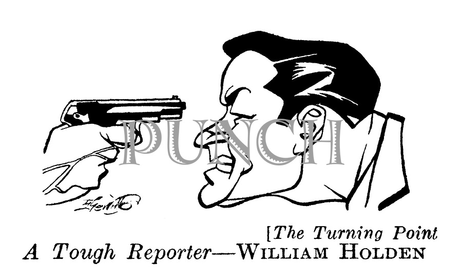 The Turning Point ;  William Holden