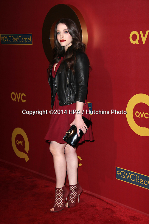 LOS ANGELES - MAR 1:  Kat Dennings at the QVC 5th Annual Red Carpet Style Event at the Four Seasons Hotel on March 1, 2014 in Beverly Hills, CA