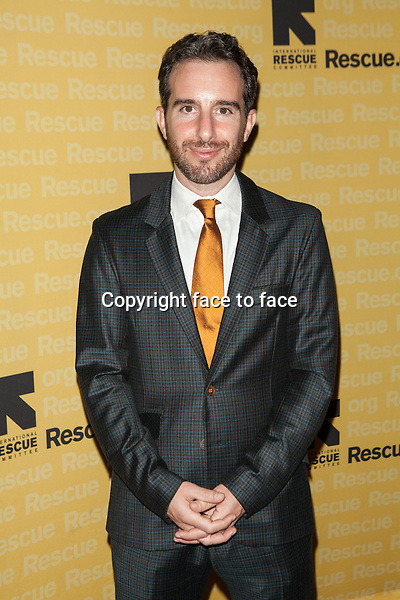 NEW YORK, NY - NOVEMBER 6, 2013: Aaron Goldberg attends the 2013 International Rescue Committee Freedom Award Benefit at The Waldorf Astoria on November 6, 2013 in New York City. <br />