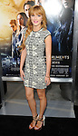 Bella Thorne at the world premiere of 'The Mortal Instruments City of Bones' held at the Arclight Cinerama Dome on August 12, 2013..