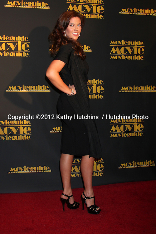 LOS ANGELES - FEB 10:  Susan Ward arrives at the 2012 Movieguide Awards at Universal Hilton Hotel on February 10, 2012 in Universal City, CA