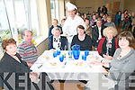 Saturday Live Kitchen : Tasting the delights of Horshoe Bar's Chef marius Crisan at th e Kerry Parents & Friends Centre in Listowel on Saturday were Nora Winter, Donie Galvin, Joanie Kennelly, Catherine Brady, Marie Stack & Mary Dillon.