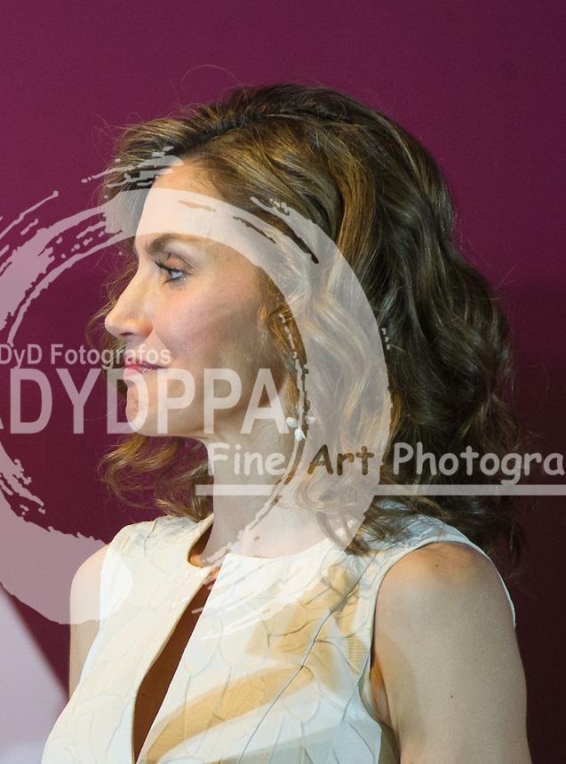 Queen Letizia of Spain arrives