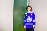 James Carswell, 13, poses for a portrait inside of the Concussion Clinic at the Providence St. Joseph Medical Center in Burbank, California November 17, 2015. Carswell received a concussion playing hockey and Dr. Michael Marvi treated him and used the ImPACT test to determine when he had healed and was fit to play again safely.