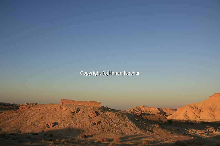Israel, Negev, Moa on the ancient Incense Route, a World Heritage Site