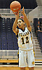 Maia Moffitt #12 of St. Anthony's shoots a jumper during the NSCHSAA varsity girls basketball final against St. Mary's at Hofstra University on Tuesday, Mar. 1, 2016. She led St. Anthony's to a 79-51 win.
