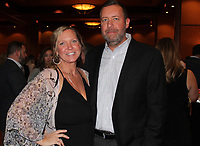 Katie and Jason Fremstad, Wine Opener honorary chaiman, help support the Cystic Fibrosis Foundation. <br /> (Arkansas Democrat-Gazette/Carin Schoppmeyer)