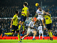 Leeds United's Kemar Roofe scores the winning goal in injury time<br /> <br /> Photographer Alex Dodd/CameraSport<br /> <br /> The EFL Sky Bet Championship - Leeds United v Blackburn Rovers - Wednesday 26th December 2018 - Elland Road - Leeds<br /> <br /> World Copyright &copy; 2018 CameraSport. All rights reserved. 43 Linden Ave. Countesthorpe. Leicester. England. LE8 5PG - Tel: +44 (0) 116 277 4147 - admin@camerasport.com - www.camerasport.com