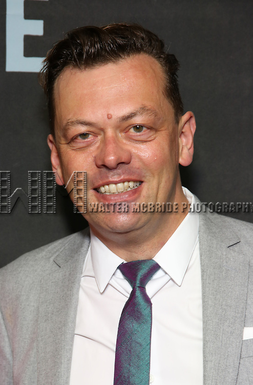 """Simon Stephens attends the Broadway Opening Night performance of """"Sea Wall / A Life"""" at the Hudson Theatre on August 08, 2019 in New York City."""