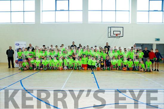 Kieran Donaghy MD Sports Basketball Camp at John Mitchels Gaa Sports Complex on Friday