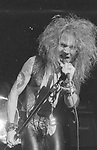 GUNS N ROSES - Axl Rose - Performing Live at Santa Monica Civic Center, Santa Monica, Ca Aug 30 1986