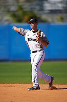 Wisconsin-Milwaukee Panthers second baseman Billy Quirke (7) during a game against the Bethune-Cookman Wildcats on February 26, 2016 at Chain of Lakes Stadium in Winter Haven, Florida.  Wisconsin-Milwaukee defeated Bethune-Cookman 11-0.  (Mike Janes/Four Seam Images)