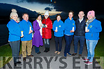 Kerry Hospice launch a virtual tree in Blennerville on Saturday evening. <br /> L-r, Ursula O'Connell, Joe Hennebery, Deirdre Walsh, Mari O'Connell, Eileen Sheehy, Maura O'Sullivan, Fergal Grimes and Andrea O'Donoghue.
