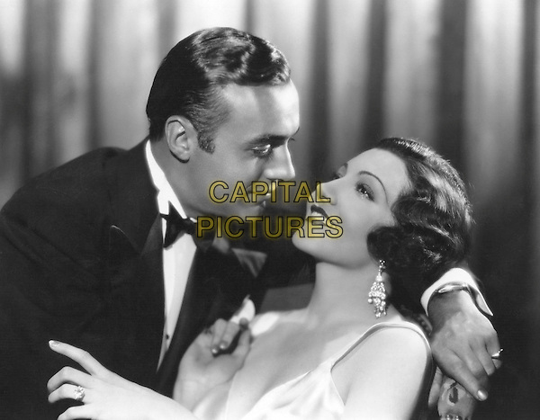 CHARLES BOYER & CLAUDETTE COLBERT.in The Man From Yesterday.*Filmstill - Editorial Use Only*.CAP/PLF.Supplied by Capital Pictures.