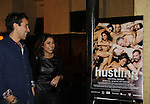 "Daphne Rubin-Vega and friend star in the third and final season of ""Hustling"" and attend the screening on December 16, at the Tribeca Cinemas, New York City, New York. The evening had a red carpet, cocktails and the screening. (Photo by Sue Coflin/Max Photos)"