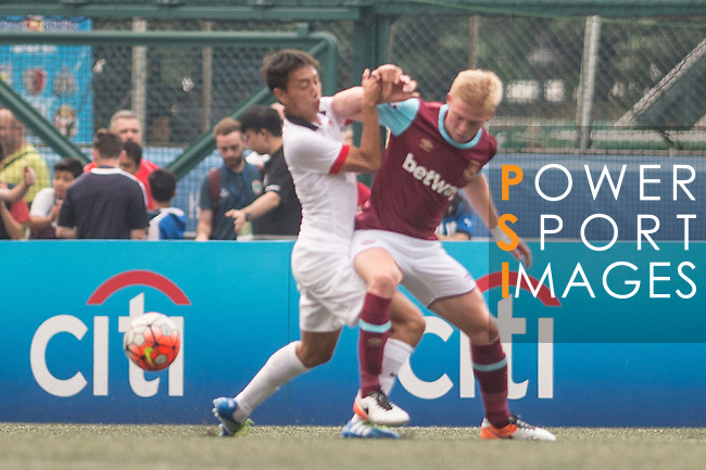 West Ham United vs HKFA U-21 during the Main of the HKFC Citi Soccer Sevens on 21 May 2016 in the Hong Kong Footbal Club, Hong Kong, China. Photo by Li Man Yuen / Power Sport Images