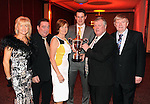 Eileen and Tim Brosnan, Bridie Brosnan, Eoin Brosnan, player of the year, Niall Brosnan and Pat Hayes at  the Dr Crokes GAA Club Victory Celebration Night at the Inec, Killarney on Friday night. Picture: Eamonn Keogh (MacMonagle, Killarney)
