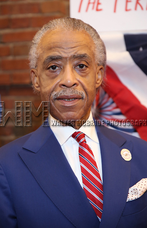 Al Sharpton attends the Broadway Opening Night Performance for 'Michael Moore on Broadway' at the Belasco Theatre on August 10, 2017 in New York City.