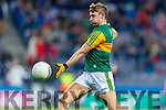 James O'Donoghue, Kerry  before the Allianz Football League Division 1 Round 1 match between Dublin and Kerry at Croke Park on Saturday.
