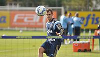 SÃO PAULO,SP, 14.05.2015 - FUTEBOL-PALMEIRAS - Lucas do Palmeiras durante o treinamento do Palmeiras na Academia de Futebol na Barra Funda, região oeste de São Paulo, nesta quinta-feira 14. (Foto: Bruno Ulivieri/ Brazil Photo Press)