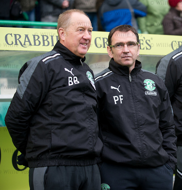 Billy Brown and Pat Fenlon