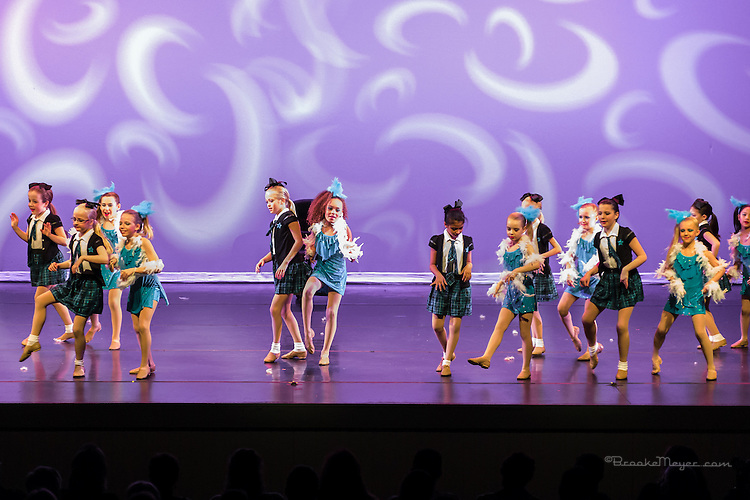 """Evening Performance """"A Taste Of Broadway"""", the Spring Gala production of 3D Project Jazz Company. Cary Arts Center, 14 March 2015."""