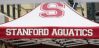 STANFORD, CA - FEBRUARY 8, 2014: Stanford Synchronized Swimming competes against University of the Incarnate Word at Avery Aquatic Center on the campus of Stanford University.