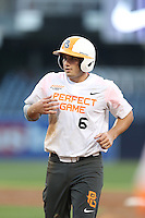 Joe Rizzo (6) of the East team runs the bases during the 2015 Perfect Game All-American Classic at Petco Park on August 16, 2015 in San Diego, California. The East squad defeated the West, 3-1. (Larry Goren/Four Seam Images)